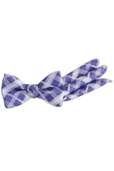 Picture of Plaid Tie & Pocket Square