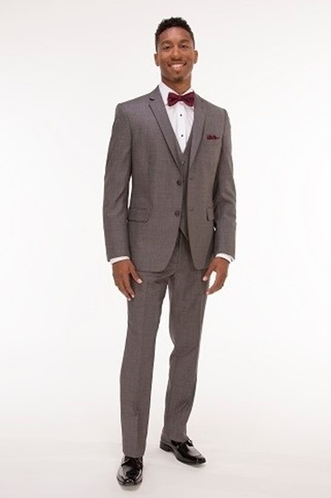 Picture of Sharkskin Grey Tyler Suit
