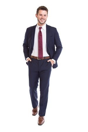 Picture of Navy Modern Fit Suit