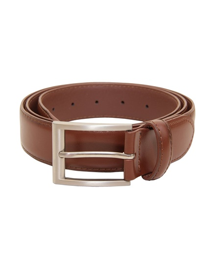 Picture of Mens Classic Dress Brown Belt